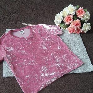 💐 Victoria Secret PINK Velvet Crop Top